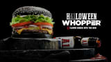 Burger King's Halloween Whopper.